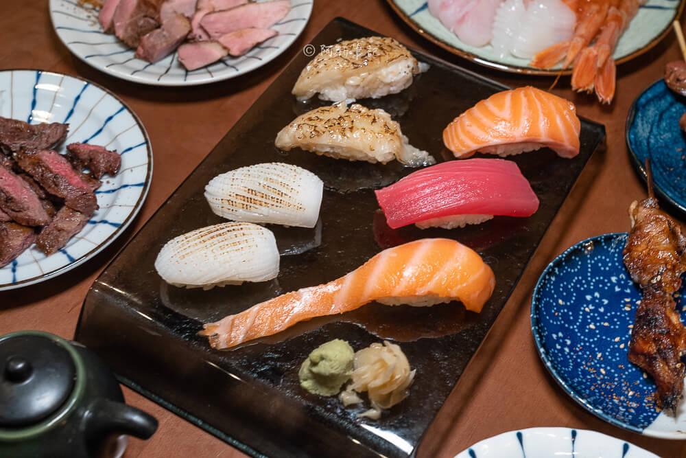 DSC03372 - 熱血採訪│台中少見營業到凌晨3點的日式料理店!不收服務費餐具自取的魚貳拾