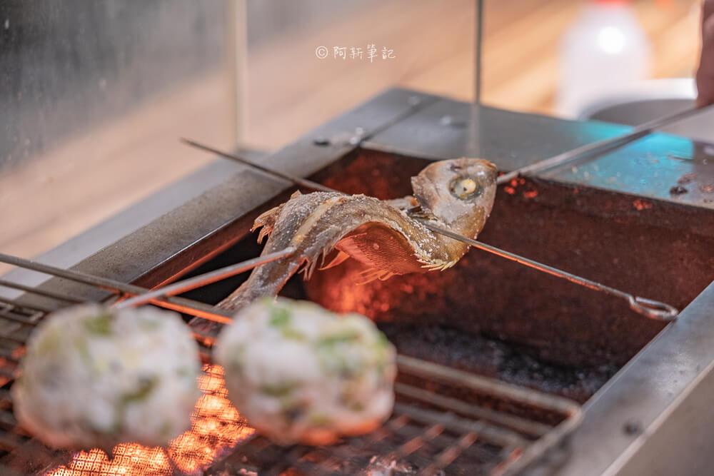 DSC03392 - 熱血採訪│台中少見營業到凌晨3點的日式料理店!不收服務費餐具自取的魚貳拾