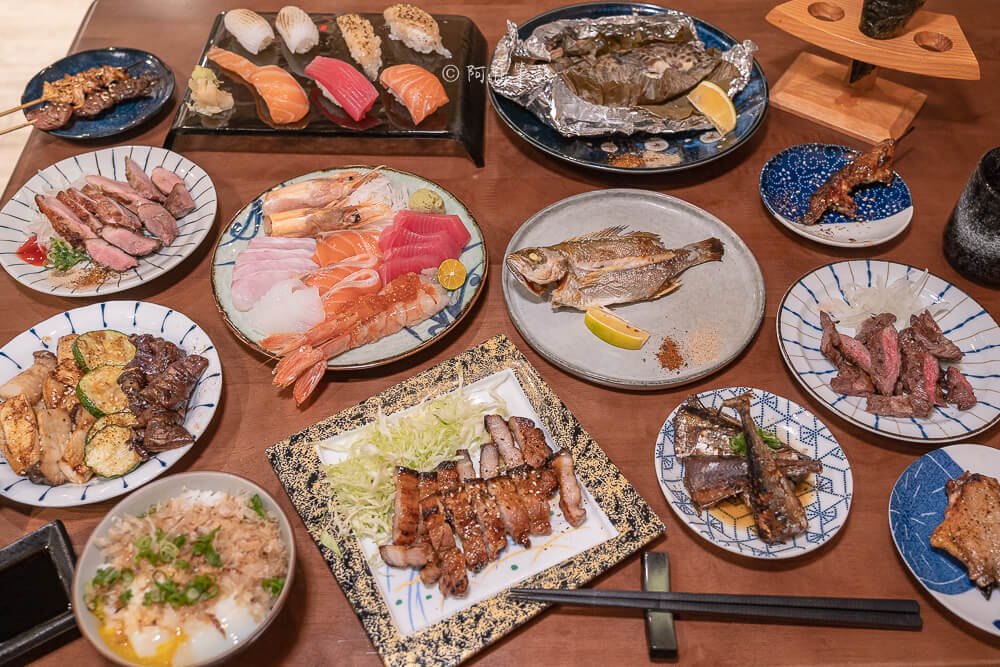 DSC03400 - 熱血採訪│台中少見營業到凌晨3點的日式料理店!不收服務費餐具自取的魚貳拾