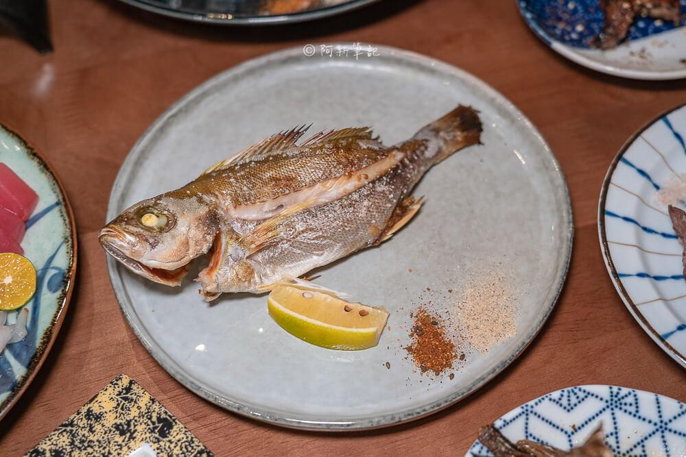 DSC03402 - 熱血採訪│台中少見營業到凌晨3點的日式料理店!不收服務費餐具自取的魚貳拾