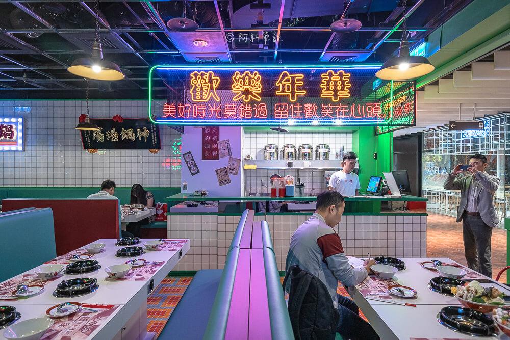DSC01956 - 熱血採訪│港動吃鍋進軍老虎城,舊式復古香港味飄台中,第一次在茶餐廳吃鍋物,這裡太好拍