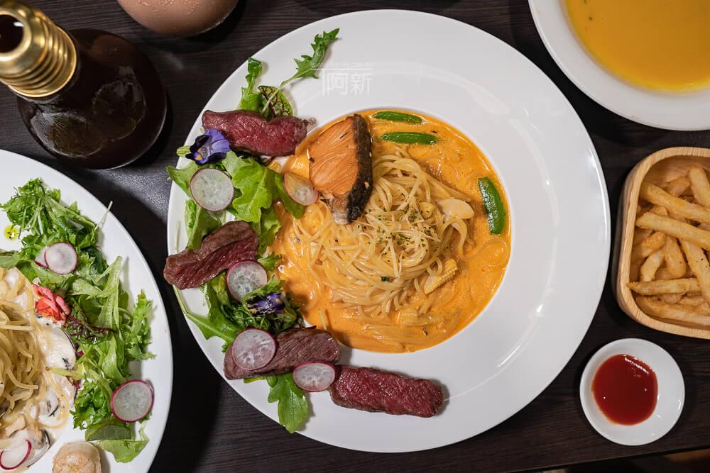 DSC09319 - 熱血採訪│台中科博館餐高沐手作料理餐廳新菜單來啦!鮭魚、菲力牛一次雙重奏,美味又滿足