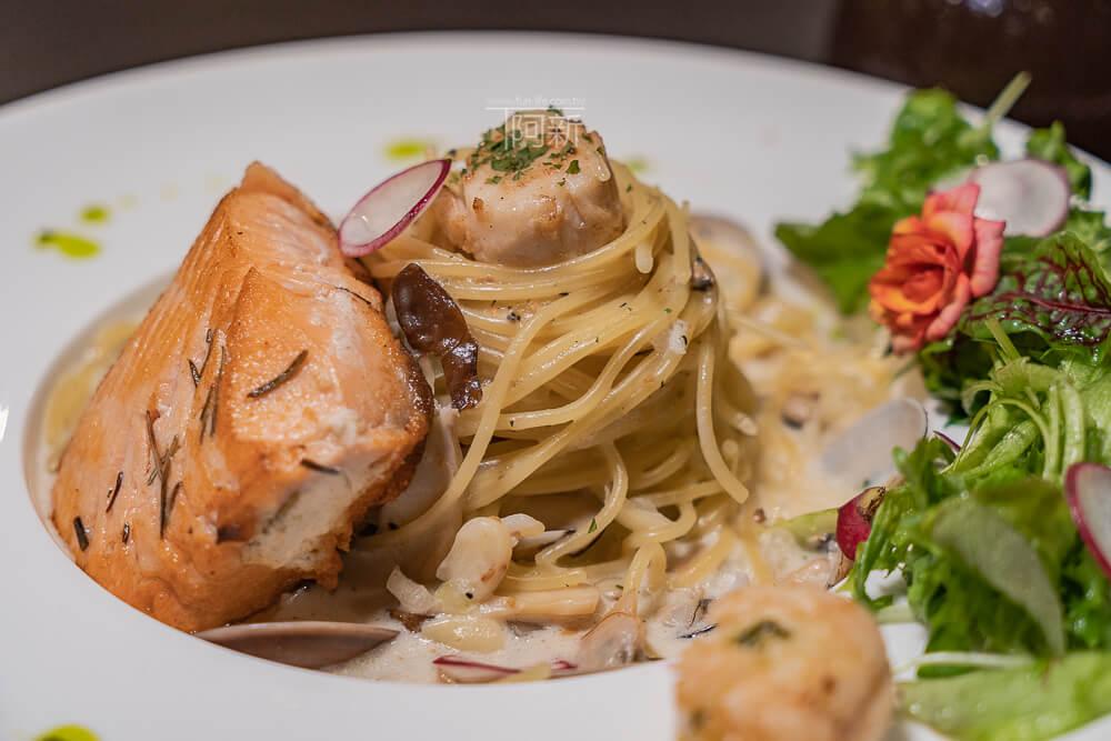 DSC09348 - 熱血採訪│台中科博館餐高沐手作料理餐廳新菜單來啦!鮭魚、菲力牛一次雙重奏,美味又滿足