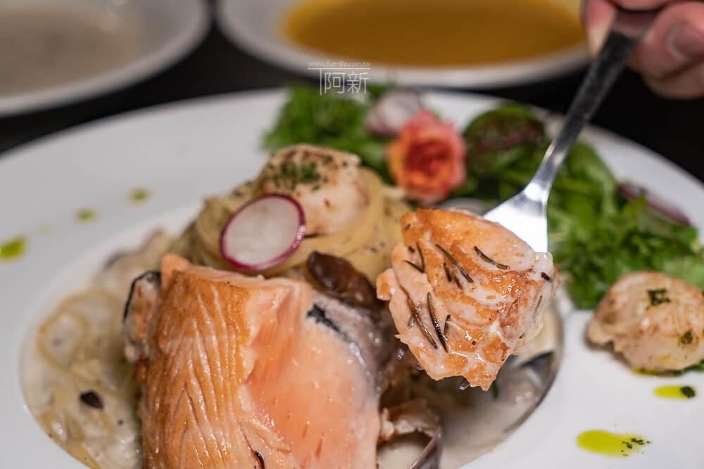 DSC09397 - 熱血採訪│台中科博館餐高沐手作料理餐廳新菜單來啦!鮭魚、菲力牛一次雙重奏,美味又滿足