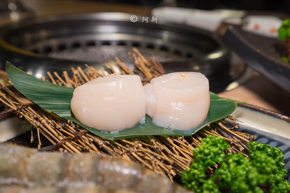 DSC04017 - 熱血採訪│雲火日式燒肉,整個牛肉盤份量好驚人啊!冒著白煙就很華麗,好適合約會慶祝!