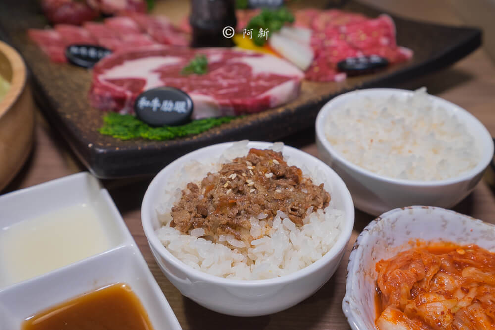 DSC04053 - 熱血採訪│雲火日式燒肉,整個牛肉盤份量好驚人啊!冒著白煙就很華麗,好適合約會慶祝!
