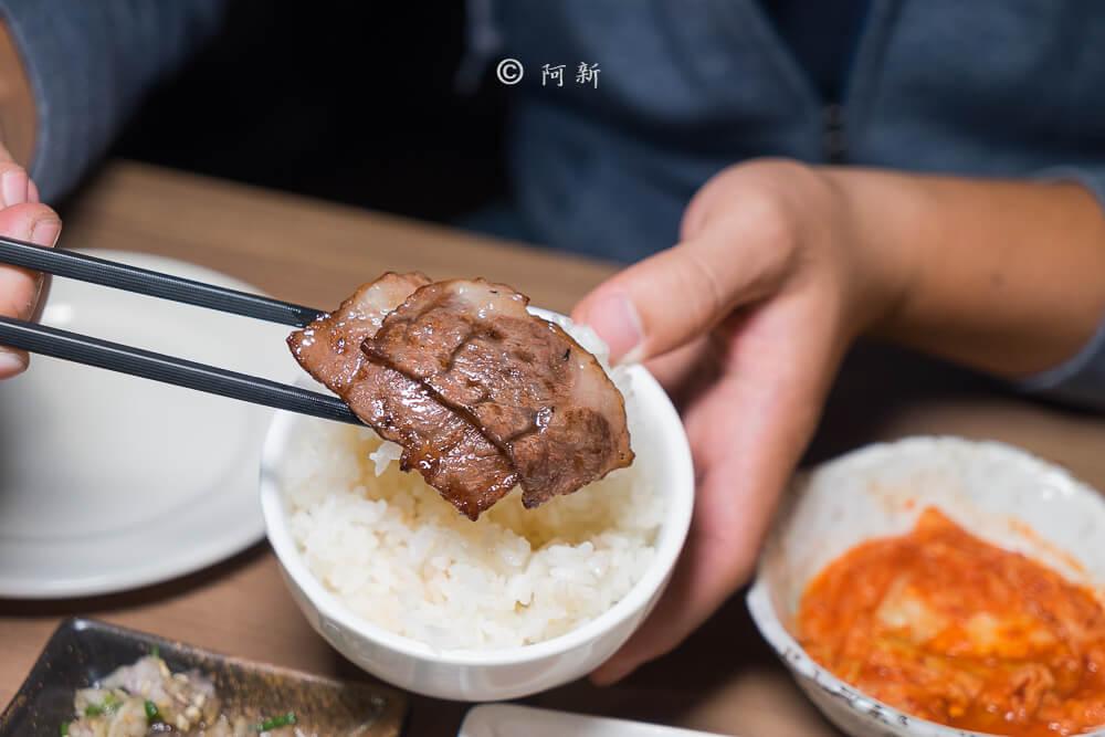 DSC04161 - 熱血採訪│雲火日式燒肉,整個牛肉盤份量好驚人啊!冒著白煙就很華麗,好適合約會慶祝!