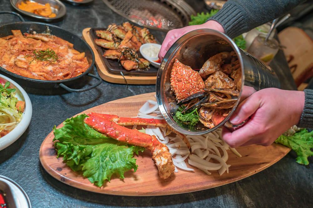 DSC00591 - 熱血採訪│台中摩天輪燒肉就在龍門馬場洞燒肉,2月底前點雙人套餐送一份美國安格板腱