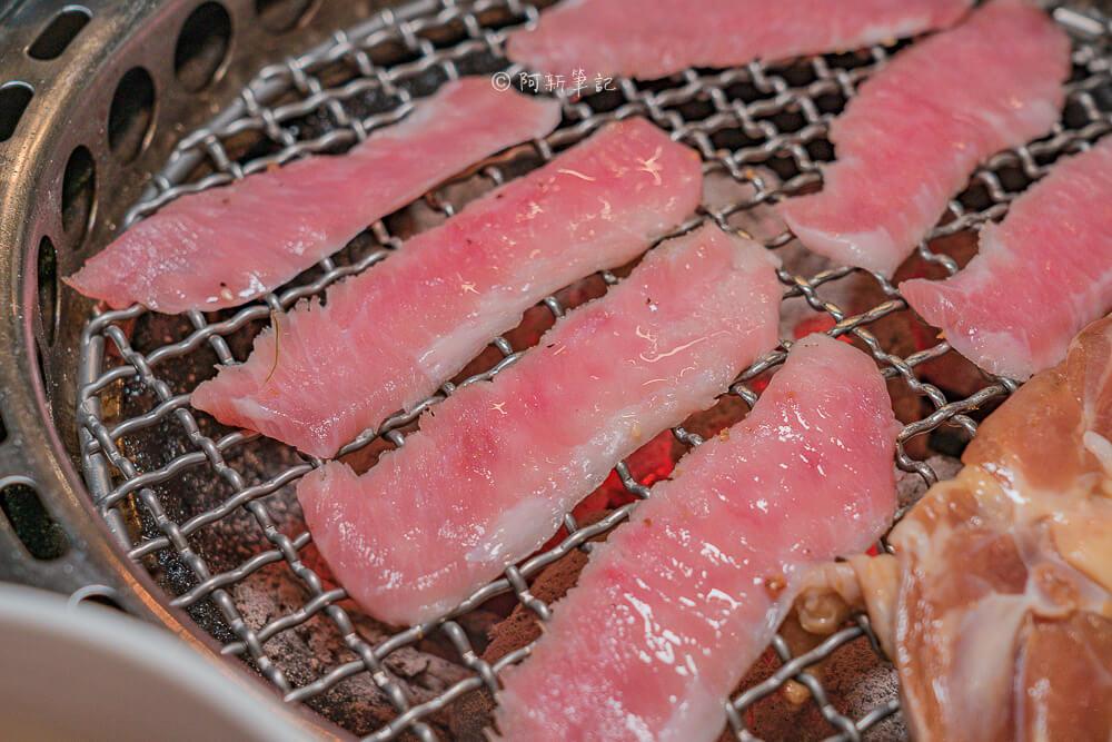 DSC00709 - 熱血採訪│台中摩天輪燒肉就在龍門馬場洞燒肉,2月底前點雙人套餐送一份美國安格板腱