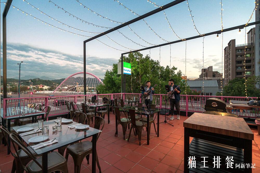 貓王排餐,台中露天餐廳,台中駐唱餐廳