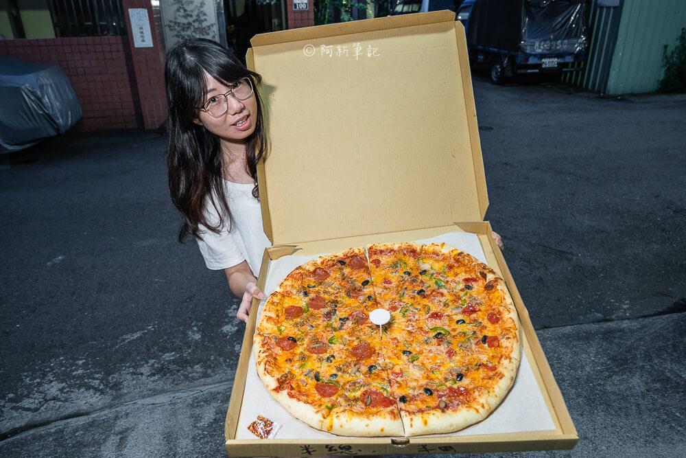 DSC05815 - 洛基披薩|隱藏勤益大學旁的20吋大披薩,外國老闆堅持做這麼大!