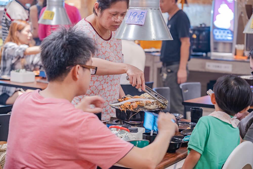 DSC04188 - 熱血採訪│200坪大空間吃到飽、室內兒童遊戲室,現在還有打卡送大公蝦活動的蝦爆了水道泰國蝦吃到飽
