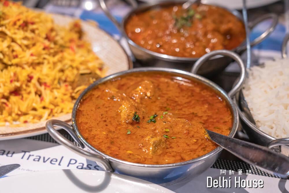 Delhi House Restaurant |瑞士茵特拉肯印度餐廳,餐點選擇多,但價格不便宜~