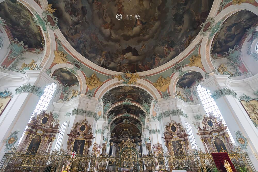瑞士聖加侖修道院,聖加侖修道院,聖加侖修道院書院,聖加侖修道院圖書館,聖加侖圖書館-12