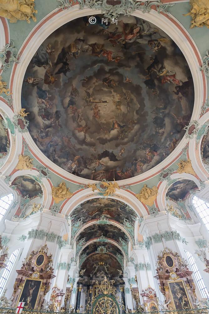 瑞士聖加侖修道院,聖加侖修道院,聖加侖修道院書院,聖加侖修道院圖書館,聖加侖圖書館-13