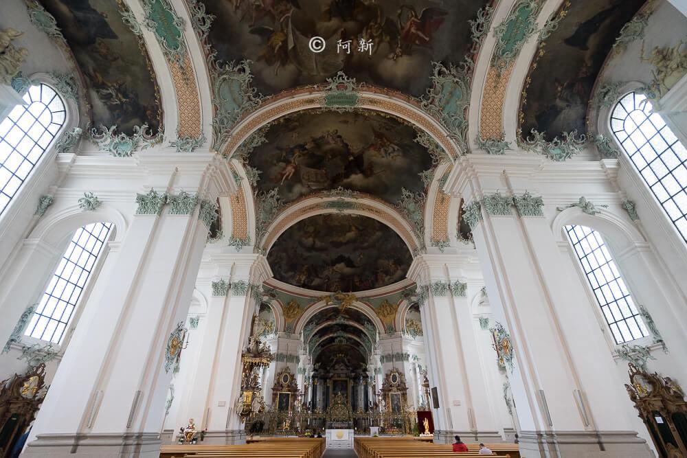 瑞士聖加侖修道院,聖加侖修道院,聖加侖修道院書院,聖加侖修道院圖書館,聖加侖圖書館-15