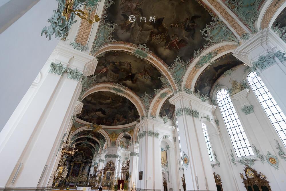 瑞士聖加侖修道院,聖加侖修道院,聖加侖修道院書院,聖加侖修道院圖書館,聖加侖圖書館-16