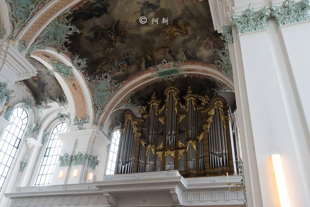 瑞士聖加侖修道院,聖加侖修道院,聖加侖修道院書院,聖加侖修道院圖書館,聖加侖圖書館-17