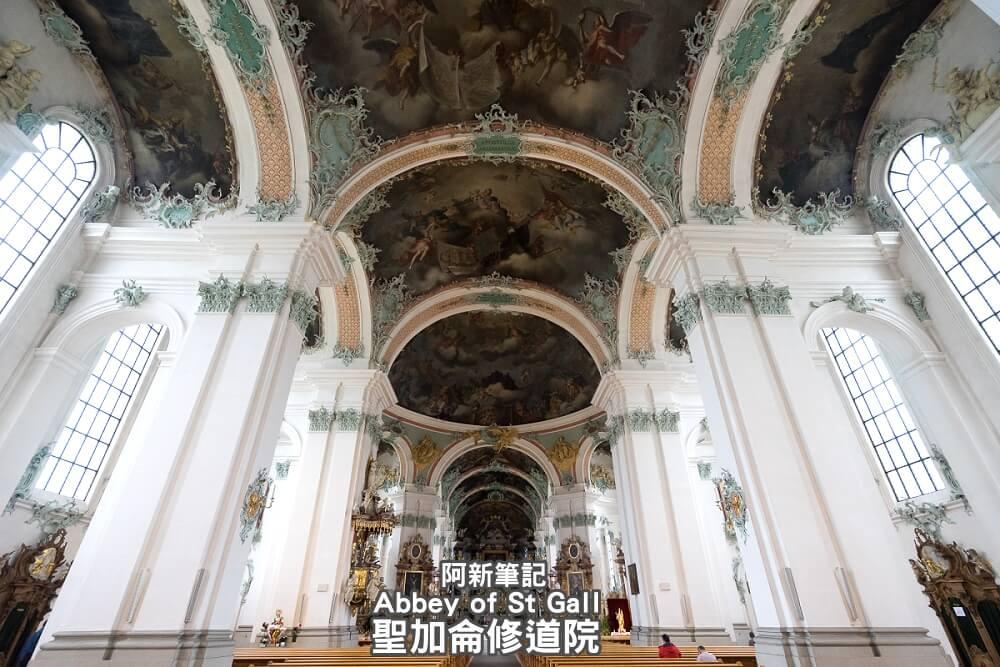瑞士聖加侖修道院,聖加侖修道院,聖加侖修道院書院,聖加侖修道院圖書館,聖加侖圖書館-01