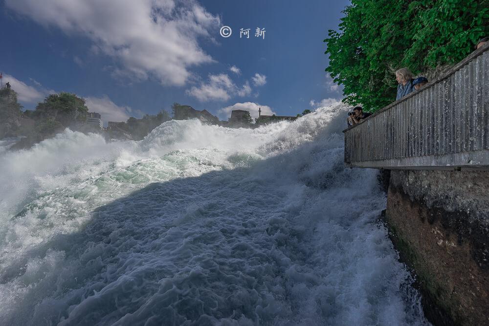 瑞士萊茵瀑布,萊茵瀑布,歐洲最大瀑布,瑞士旅遊,瑞士-18