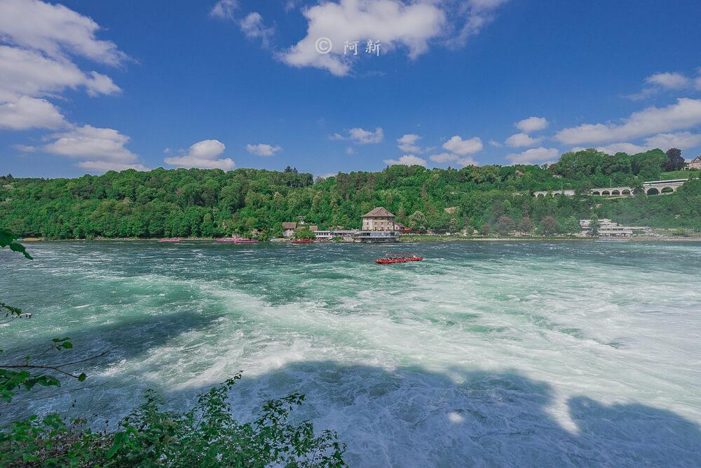 瑞士萊茵瀑布,萊茵瀑布,歐洲最大瀑布,瑞士旅遊,瑞士-26
