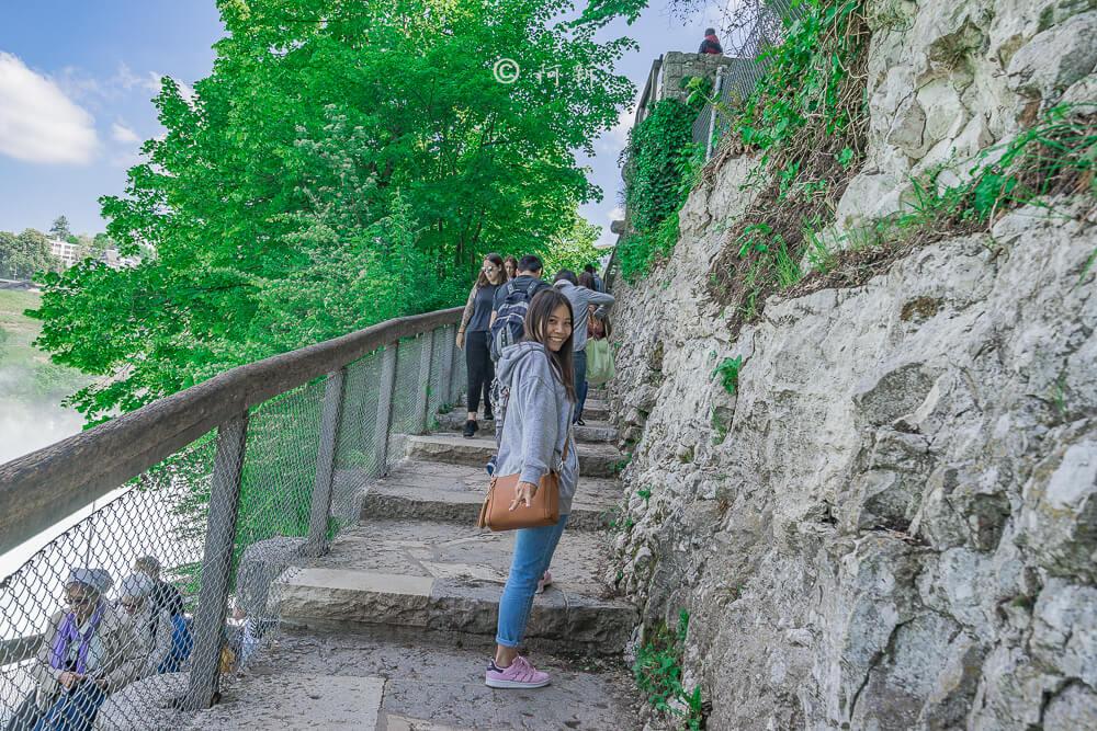 瑞士萊茵瀑布,萊茵瀑布,歐洲最大瀑布,瑞士旅遊,瑞士-28
