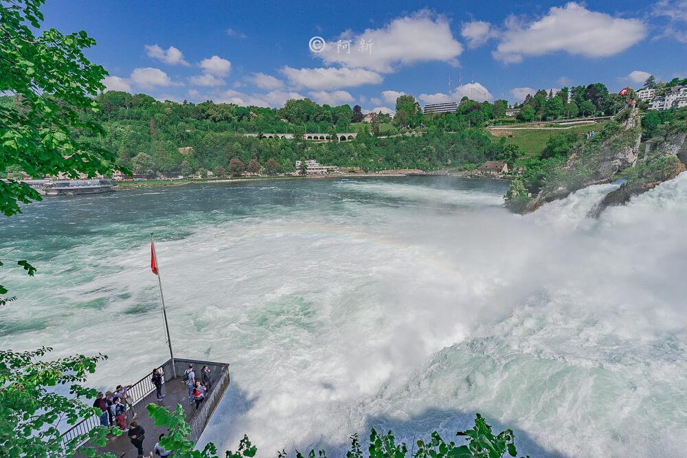 瑞士萊茵瀑布,萊茵瀑布,歐洲最大瀑布,瑞士旅遊,瑞士-30