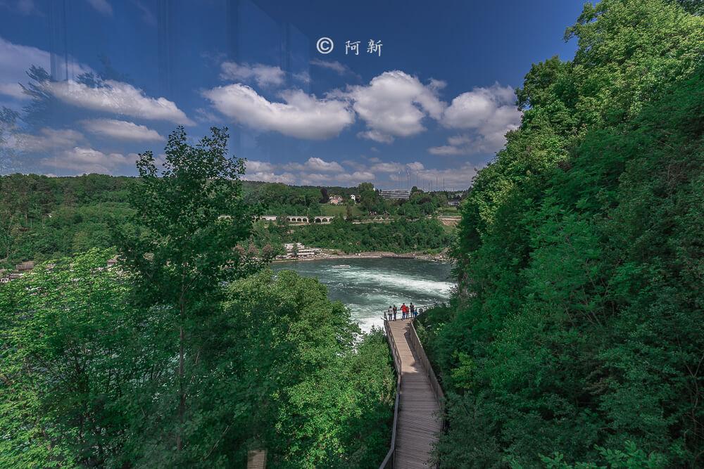 瑞士萊茵瀑布,萊茵瀑布,歐洲最大瀑布,瑞士旅遊,瑞士-42