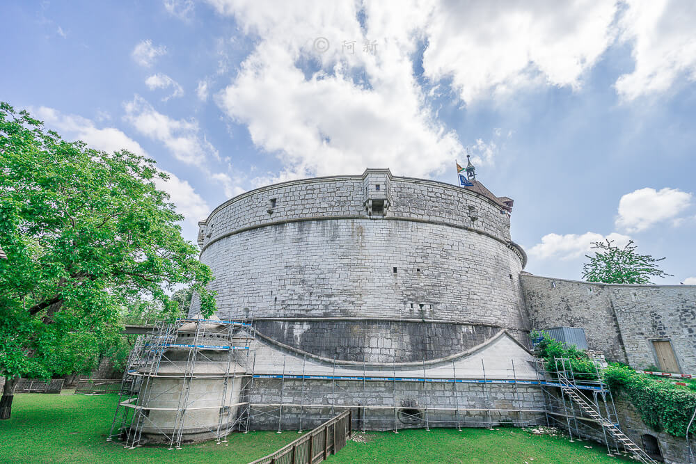 米諾要塞,沙夫豪森米諾要塞,Munot堡壘,梅諾城堡,梅諾要塞,瑞士旅遊景點-13