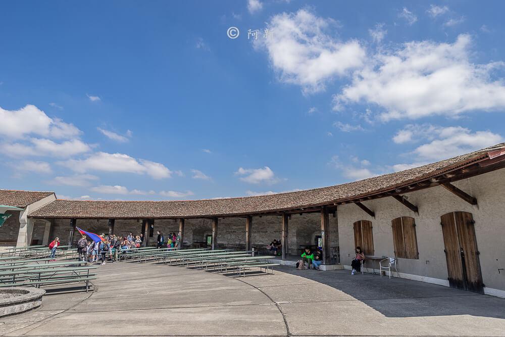 米諾要塞,沙夫豪森米諾要塞,Munot堡壘,梅諾城堡,梅諾要塞,瑞士旅遊景點-18