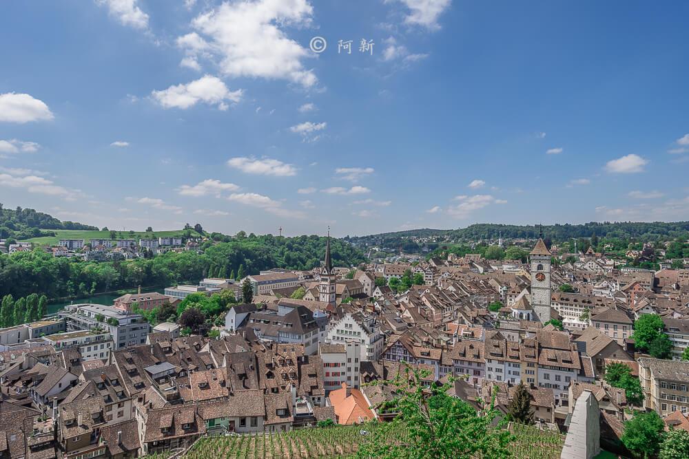 米諾要塞,沙夫豪森米諾要塞,Munot堡壘,梅諾城堡,梅諾要塞,瑞士旅遊景點-21