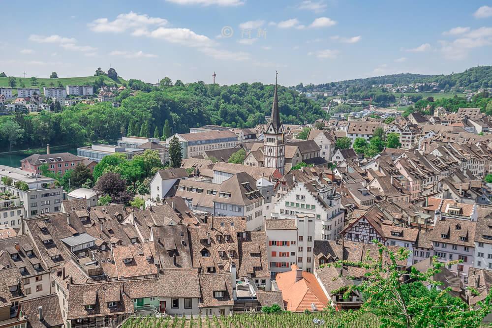 米諾要塞,沙夫豪森米諾要塞,Munot堡壘,梅諾城堡,梅諾要塞,瑞士旅遊景點-23