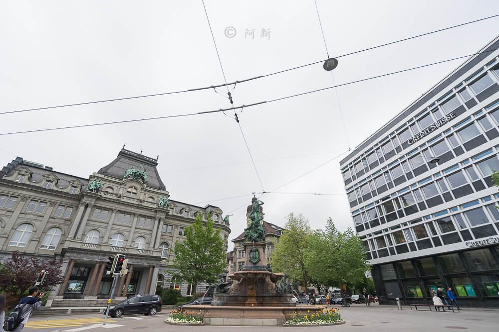 瑞士聖加侖,聖加侖,聖加侖景點,聖加侖舊城區,瑞士聖加侖景點,聖加侖紅色廣場,瑞士旅遊-02