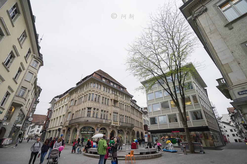瑞士聖加侖,聖加侖,聖加侖景點,聖加侖舊城區,瑞士聖加侖景點,聖加侖紅色廣場,瑞士旅遊-17