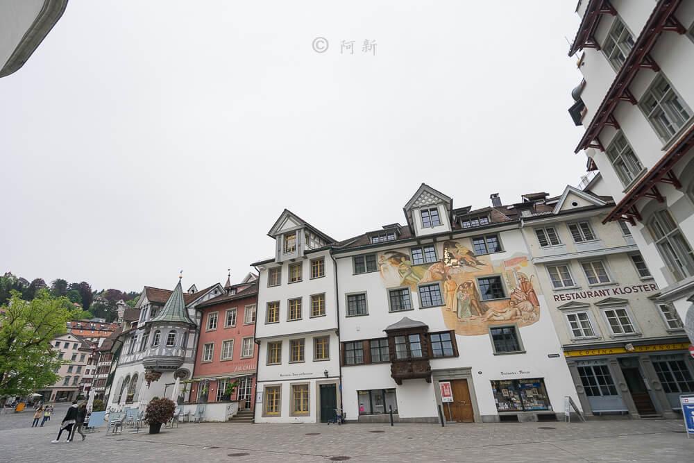 瑞士聖加侖,聖加侖,聖加侖景點,聖加侖舊城區,瑞士聖加侖景點,聖加侖紅色廣場,瑞士旅遊-19