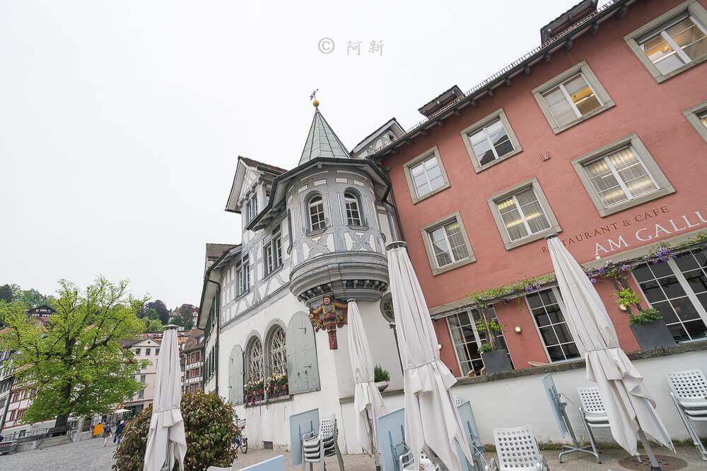瑞士聖加侖,聖加侖,聖加侖景點,聖加侖舊城區,瑞士聖加侖景點,聖加侖紅色廣場,瑞士旅遊-20