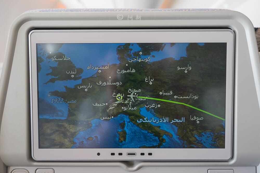 阿聯酋航空.阿聯酋航空體驗,阿聯酋航空評價.阿聯酋航空經濟艙,搭機體驗-37