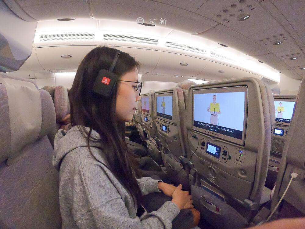 阿聯酋航空.阿聯酋航空體驗,阿聯酋航空評價.阿聯酋航空經濟艙,搭機體驗-54