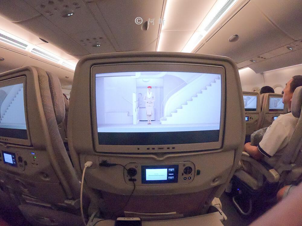 阿聯酋航空.阿聯酋航空體驗,阿聯酋航空評價.阿聯酋航空經濟艙,搭機體驗-55