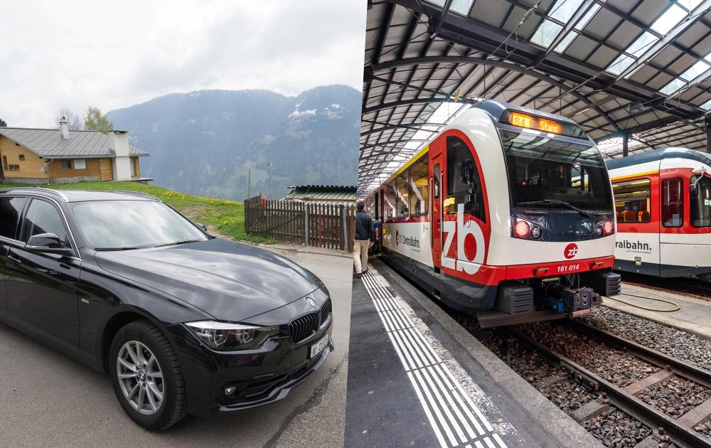 瑞士旅遊交通
