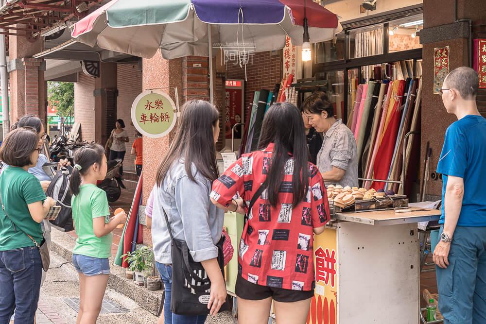 迪化街小吃,永樂市場,永樂車輪餅,永樂市場車輪餅,迪化街車輪餅-03