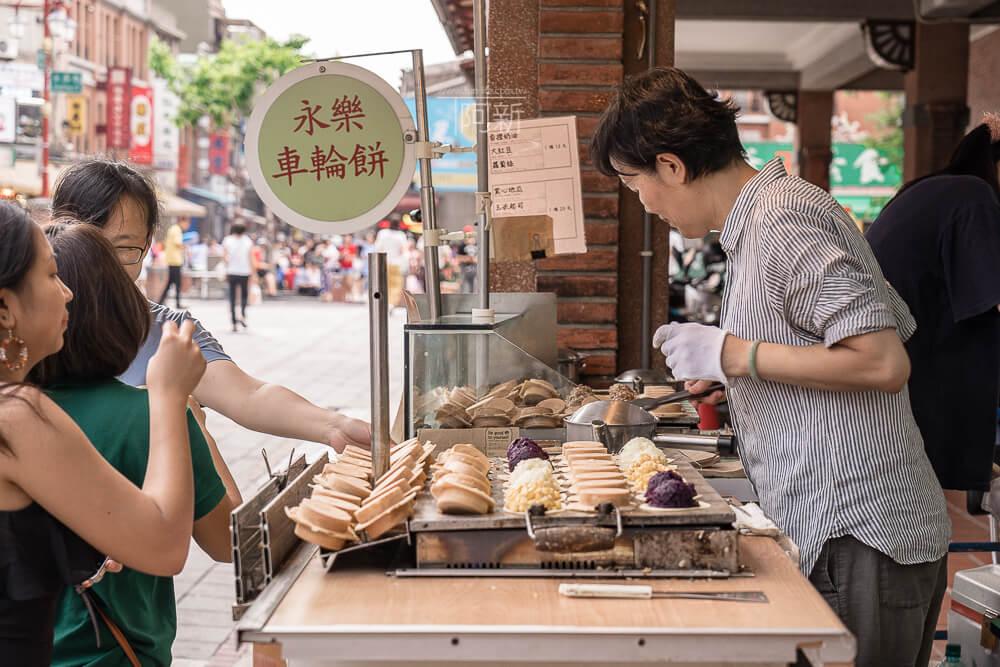 迪化街小吃,永樂市場,永樂車輪餅,永樂市場車輪餅,迪化街車輪餅-04