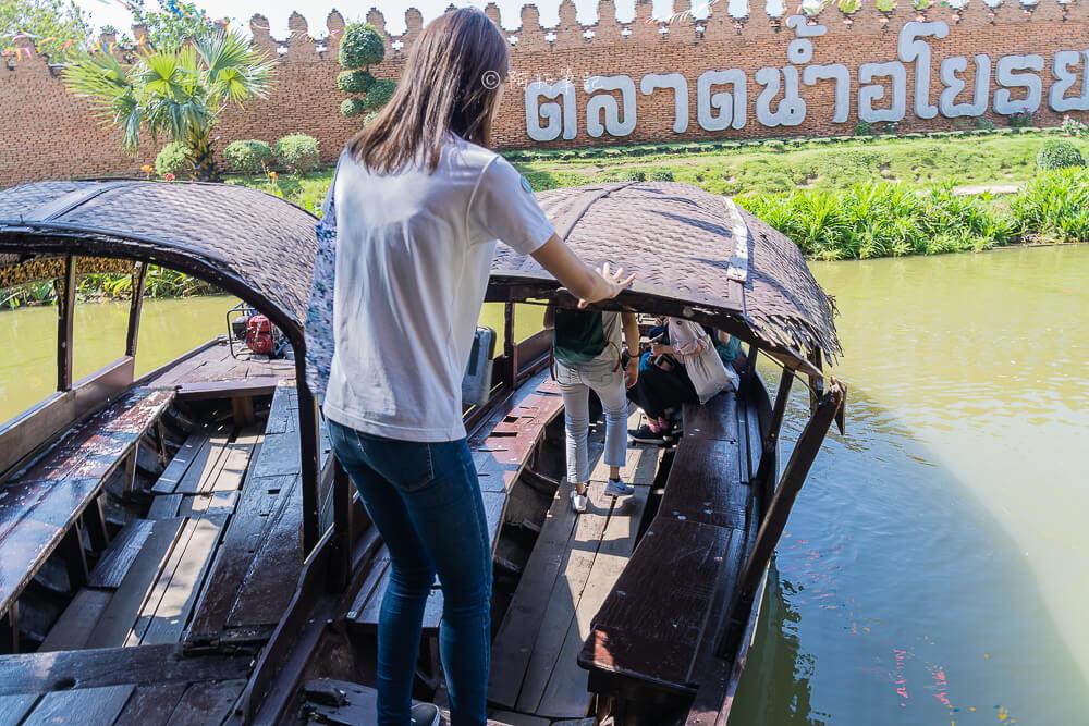 大城水上市場,大城水上市場開放時間,大城景點,泰國景點