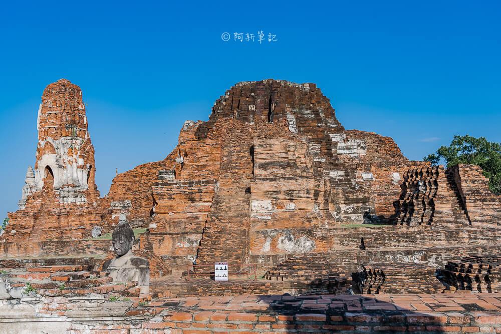 瑪哈泰寺,大城府遺址,泰國大城景點,泰國旅遊