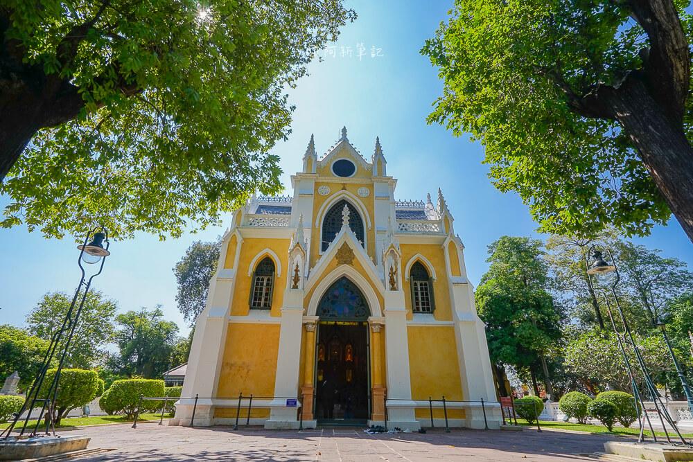 泰國安娜教堂,大城安娜教堂,安娜教堂怎麼去