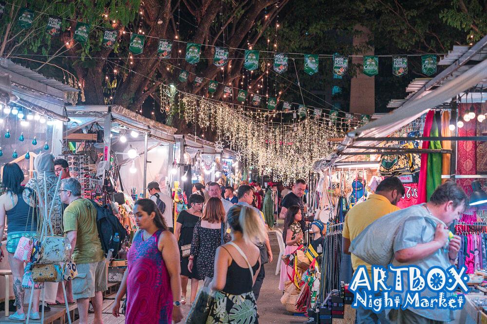 ARTBOX Night Market,ARTBOX 曼谷,artbox thailand 2020,artbox bangkok 2020,泰國artbox,曼谷貨櫃市集,art box,曼谷市集