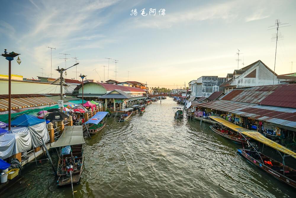 泰國旅遊,曼谷旅遊,曼谷自由行,泰國必去景點,安帕瓦水上市場,曼谷一日遊