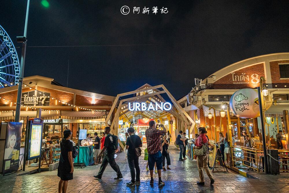 河濱碼頭夜市,Asiatique,曼谷夜市