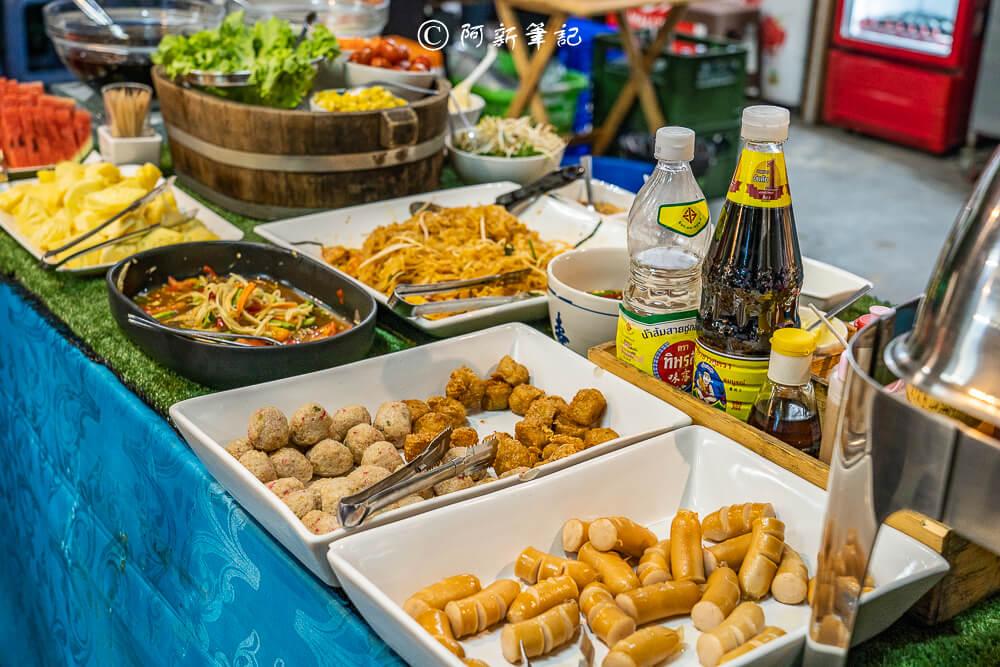 泰國曼谷美食,曼谷美食,曼谷吃到飽,曼谷海鮮吃到飽,曼谷必吃美食,Seafood Land,曼谷燒烤